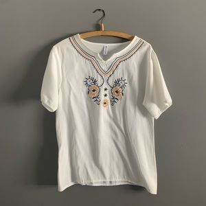 Tops - Embroidered Tunic